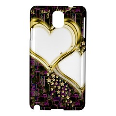 Lover Romantic Couple Apart Samsung Galaxy Note 3 N9005 Hardshell Case