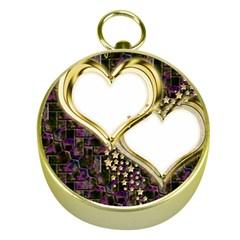 Lover Romantic Couple Apart Gold Compasses