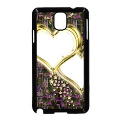 Lover Romantic Couple Apart Samsung Galaxy Note 3 Neo Hardshell Case (black)