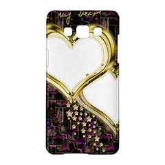 Lover Romantic Couple Apart Samsung Galaxy A5 Hardshell Case