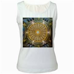 Arches Architecture Cathedral Women s White Tank Top