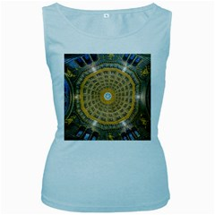 Arches Architecture Cathedral Women s Baby Blue Tank Top