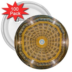 Arches Architecture Cathedral 3  Buttons (100 pack)