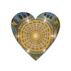 Arches Architecture Cathedral Heart Magnet