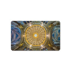 Arches Architecture Cathedral Magnet (Name Card)