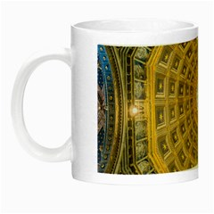 Arches Architecture Cathedral Night Luminous Mugs