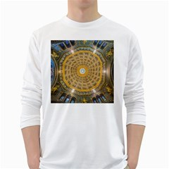 Arches Architecture Cathedral White Long Sleeve T Shirts