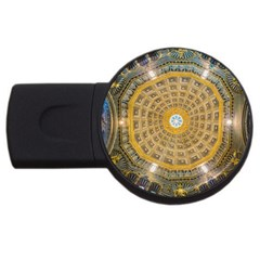 Arches Architecture Cathedral Usb Flash Drive Round (4 Gb)