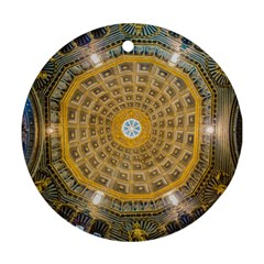 Arches Architecture Cathedral Round Ornament (Two Sides)