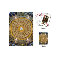 Arches Architecture Cathedral Playing Cards (mini)