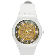Arches Architecture Cathedral Round Plastic Sport Watch (m)