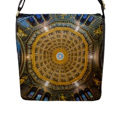 Arches Architecture Cathedral Flap Messenger Bag (l)