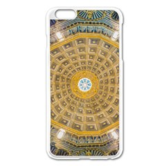 Arches Architecture Cathedral Apple Iphone 6 Plus/6s Plus Enamel White Case