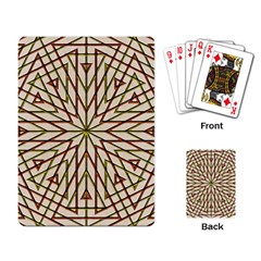 Kaleidoscope Online Triangle Playing Card
