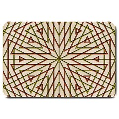 Kaleidoscope Online Triangle Large Doormat