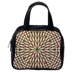 Kaleidoscope Online Triangle Classic Handbags (One Side)