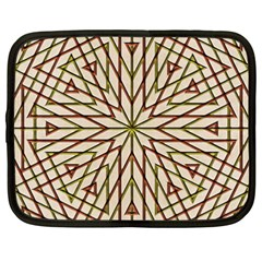 Kaleidoscope Online Triangle Netbook Case (XXL)