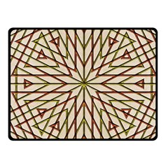 Kaleidoscope Online Triangle Fleece Blanket (small)