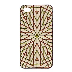 Kaleidoscope Online Triangle Apple iPhone 4/4s Seamless Case (Black)
