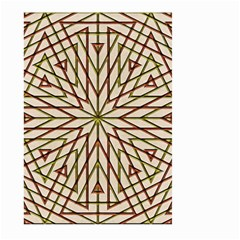 Kaleidoscope Online Triangle Large Garden Flag (Two Sides)