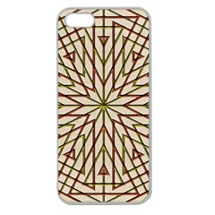Kaleidoscope Online Triangle Apple Seamless Iphone 5 Case (clear)