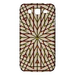 Kaleidoscope Online Triangle Samsung Galaxy Mega 5.8 I9152 Hardshell Case