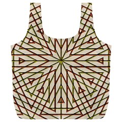 Kaleidoscope Online Triangle Full Print Recycle Bags (L)