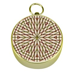 Kaleidoscope Online Triangle Gold Compasses
