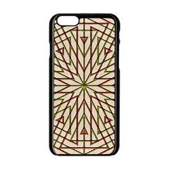 Kaleidoscope Online Triangle Apple Iphone 6/6s Black Enamel Case