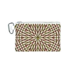 Kaleidoscope Online Triangle Canvas Cosmetic Bag (s)