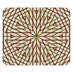 Kaleidoscope Online Triangle Double Sided Flano Blanket (small)