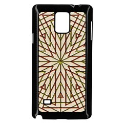 Kaleidoscope Online Triangle Samsung Galaxy Note 4 Case (Black)