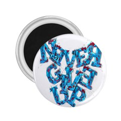 Sport Crossfit Fitness Gym Never Give Up 2.25  Magnets