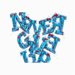 Sport Crossfit Fitness Gym Never Give Up Canvas 24  x 36
