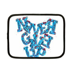 Sport Crossfit Fitness Gym Never Give Up Netbook Case (Small)