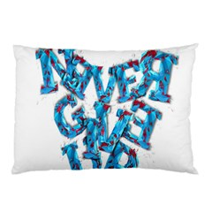Sport Crossfit Fitness Gym Never Give Up Pillow Case (two Sides)