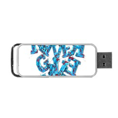 Sport Crossfit Fitness Gym Never Give Up Portable USB Flash (One Side)