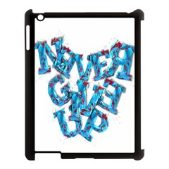 Sport Crossfit Fitness Gym Never Give Up Apple Ipad 3/4 Case (black)