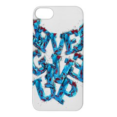 Sport Crossfit Fitness Gym Never Give Up Apple Iphone 5s/ Se Hardshell Case