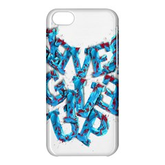 Sport Crossfit Fitness Gym Never Give Up Apple Iphone 5c Hardshell Case