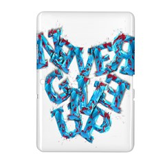 Sport Crossfit Fitness Gym Never Give Up Samsung Galaxy Tab 2 (10 1 ) P5100 Hardshell Case