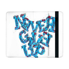 Sport Crossfit Fitness Gym Never Give Up Samsung Galaxy Tab Pro 8.4  Flip Case