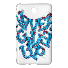 Sport Crossfit Fitness Gym Never Give Up Samsung Galaxy Tab 4 (8 ) Hardshell Case