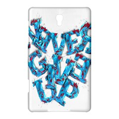 Sport Crossfit Fitness Gym Never Give Up Samsung Galaxy Tab S (8.4 ) Hardshell Case