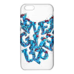 Sport Crossfit Fitness Gym Never Give Up iPhone 6/6S TPU Case