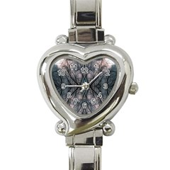 Storm Nature Clouds Landscape Tree Heart Italian Charm Watch