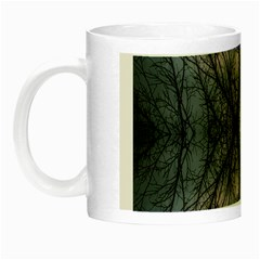 Storm Nature Clouds Landscape Tree Night Luminous Mugs