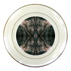Storm Nature Clouds Landscape Tree Porcelain Plates