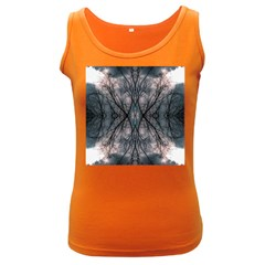 Storm Nature Clouds Landscape Tree Women s Dark Tank Top