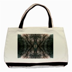 Storm Nature Clouds Landscape Tree Basic Tote Bag (two Sides)